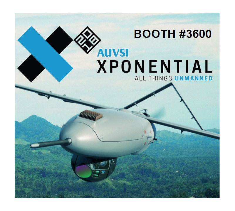 Visit us at AUVSI XPONENTIAL 2018, April 30 – May 3