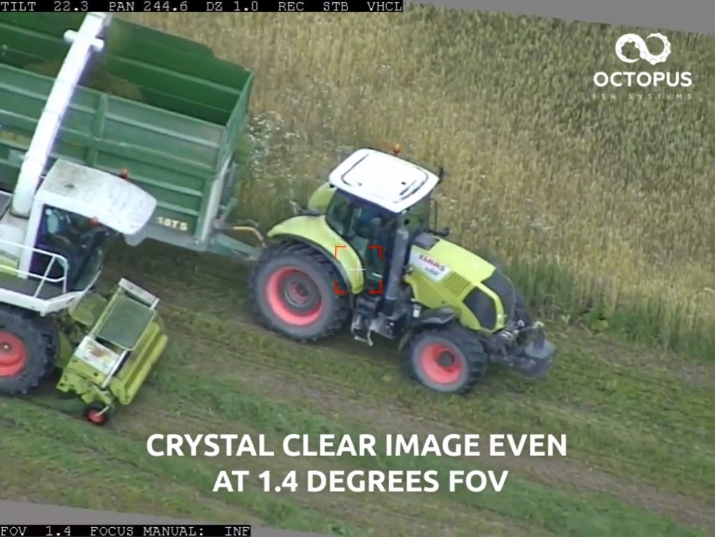 Epsilon 140 - HD video of Farmer Operations Tracking